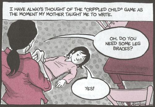 Lesbian mother comics