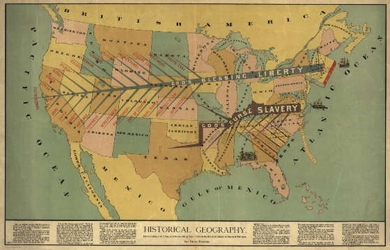 Historical Geography, entered according to act of Congress in the year 1888, by John F. Smith, in the office of the Librarian of Congress at Washington.