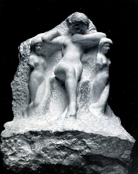 <i>Sappho</i>. Auguste Rodin. Wikimedia Commons