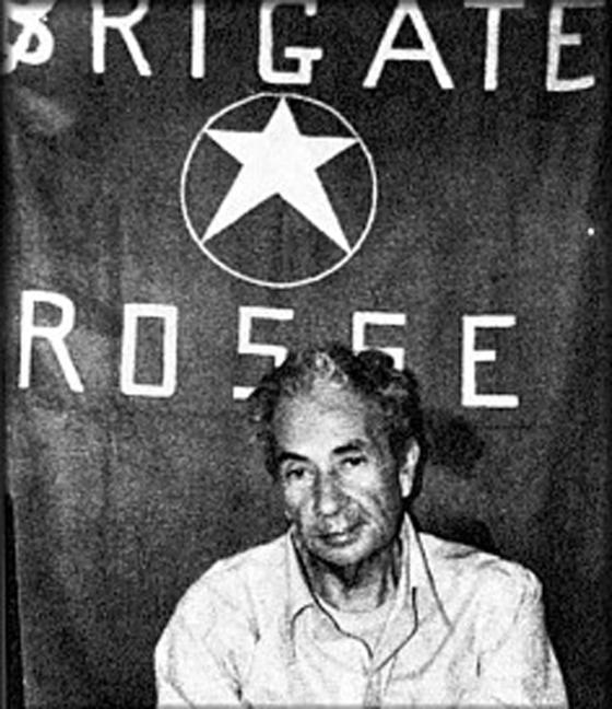 <i>Aldo Moro during his detention by the Red Brigades</i> (1978). Fabioriuni.eu / Wikimedia Commons