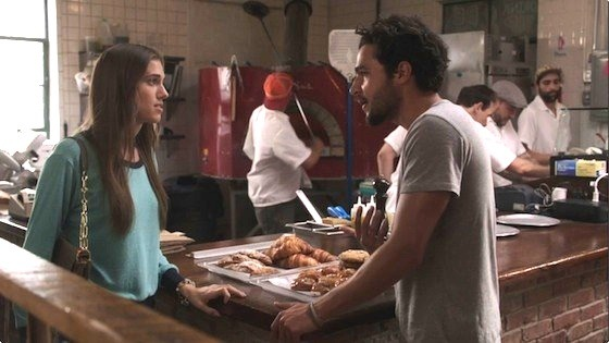 Allison Williams and Christopher Abbott, <i>Girls</i>, Season 2, Episode 2