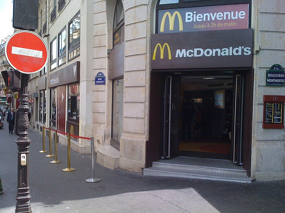 <i>McDonalds France</i> (2009). Morten Josefsen. Flickr