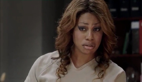 Laverne Cox as Sophia Burset, <i>Orange Is the New Black</i>, Season 1, Episode 3