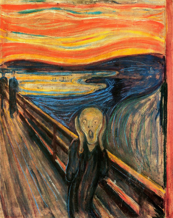 <i>The Scream of Nature</i> by Edvard Munch / Wikipedia.org