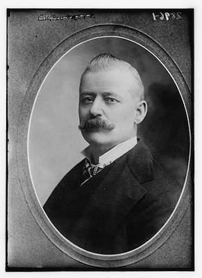 Photograph of George Washington Plunkitt, c. 1910. Library of Congress