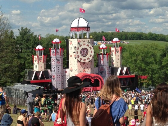 Mysteryland, 2014. Photograph by the author
