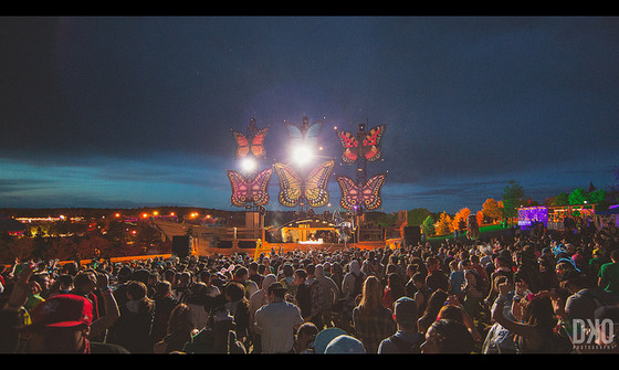 Mysteryland, 2014. Photograph by Dylan ODowd / Flickr. Licensed under CC BY-ND 2.0