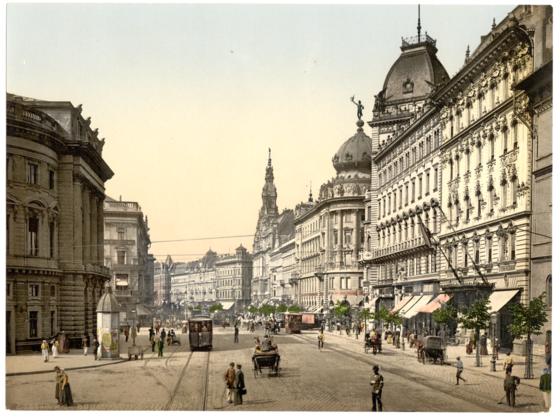 <i>Ring Street, Budapest</i> (c. 18901900). Wikimedia Commons