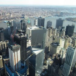New York City's financial district
