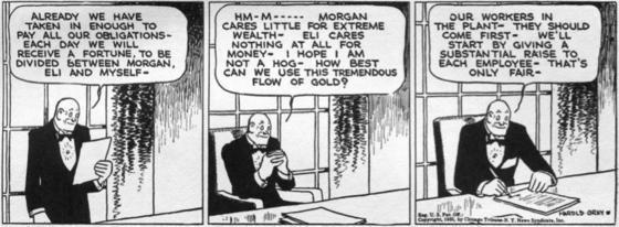 Harold Gray, <i>Little Orphan Annie</i>, July 10, 1935