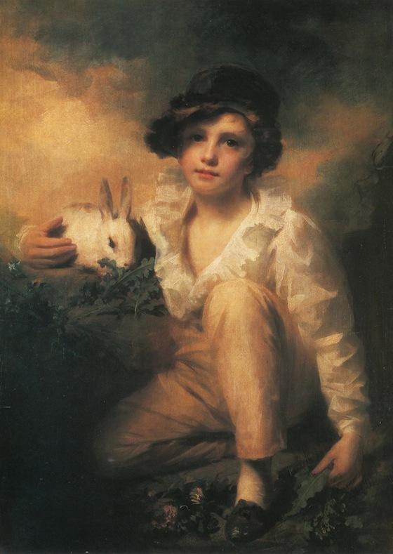 Sir Henry Raeburn, <i>Boy and Rabbit</i> (1786)