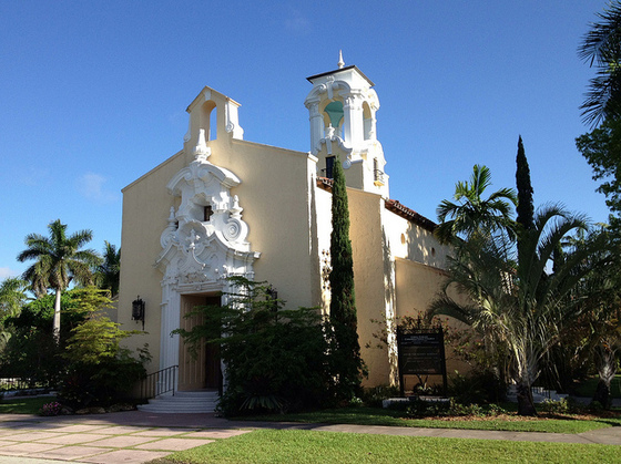 <i>Coral Gables Congregational Church</i>. Photograph by Phillip Pessar / Flickr