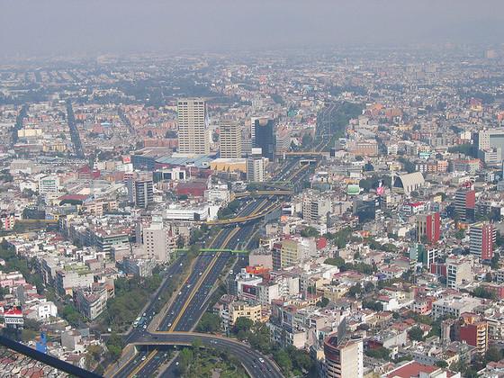 <i>Circuito Interior y edificios de Plaza de las Estrellas (Plaza Galerías)</i>. Photograph by * CliNKer * / Flickr