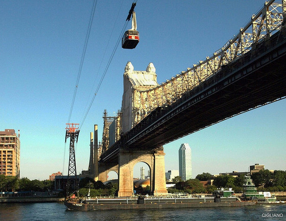<i>Roosevelt Island Tram</i>. Photograph by NYCUrbanScape / Flickr