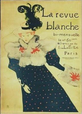 Henri Toulouse-Lautrec, <i>Misia Sert</i>, cover of <i>La Revue Blanche</i>, 1895