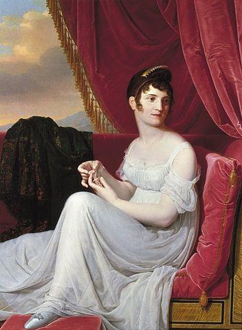 Jean Bernard Duvivier, <i>Portrait of Madame Tallien</i>, Brooklyn Museum.