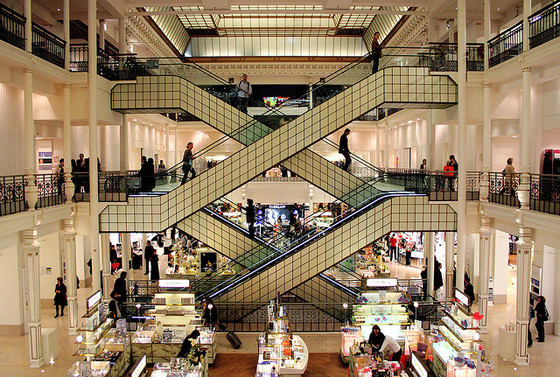 <i>Bon Marché department store</i>. Photograph by Robyn Lee / Flickr