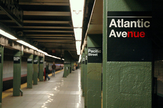 <i>Atlantic/Pacific/Barclay's</i>. Photograph by Gene Han / Flickr