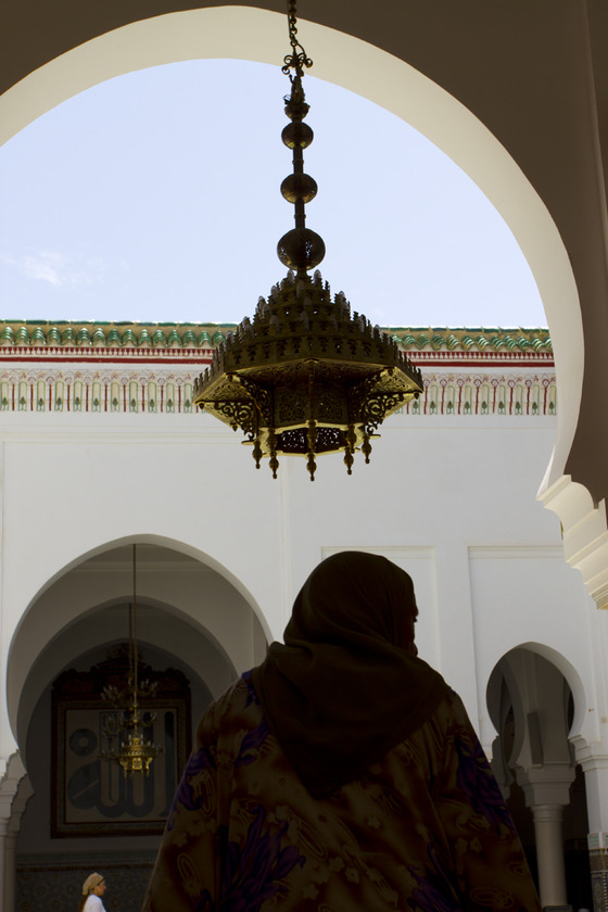 <i>Idris Shrine Courtyard, Fez</i>. Photograph by Grace Moon