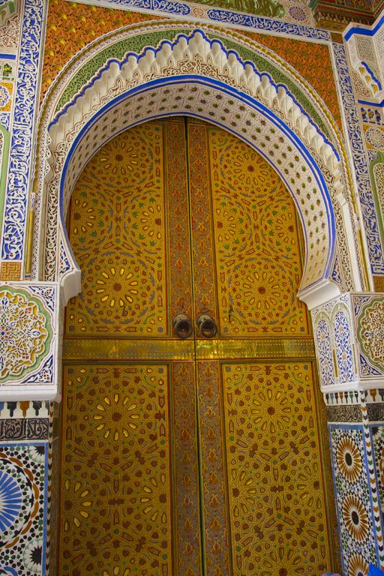 <i>Idris Shrine, Fez</i>. Photograph by Grace Moon