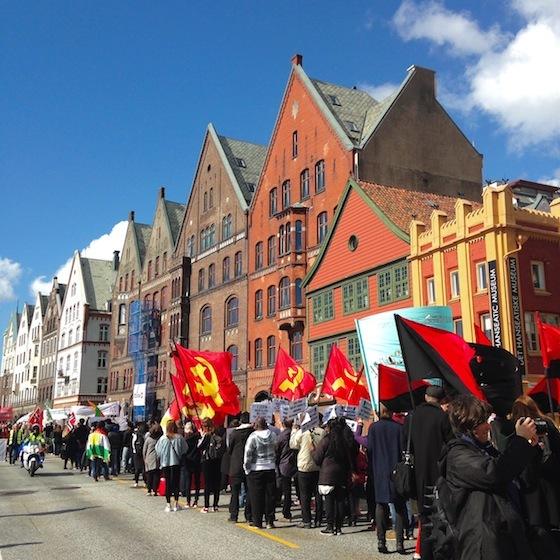 <i>May Day parade</i> (2015). Photograph by author