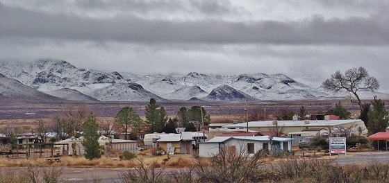 <i>Rodeo, New Mexico</i>. Photograph by DiAnn/Flickr