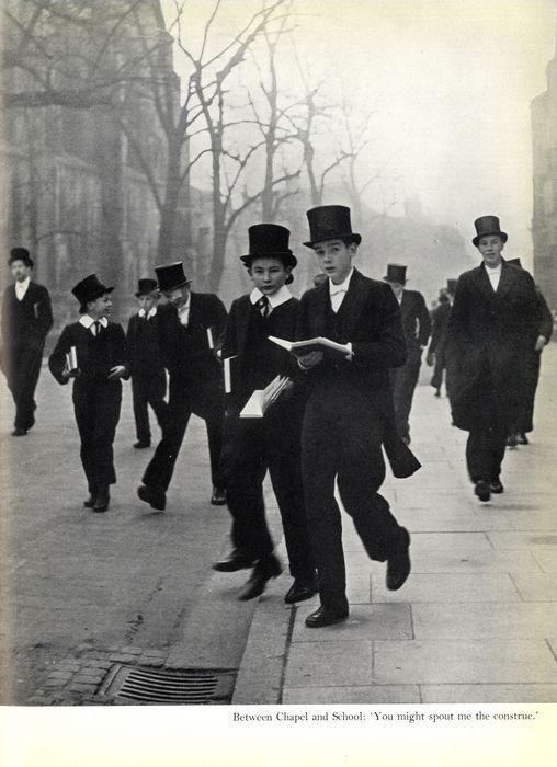 1930s schoolboys at Eton. Photograph by Laszlo Moholy-Nagy / Catawiki