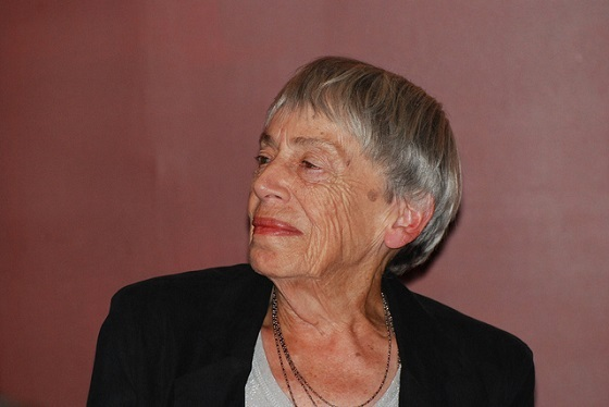 <i>Ursula K. Le Guin</i>. Photograph by OnceAndFutureLaura / Flickr