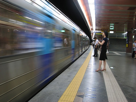 <i>Seoul subway station</i> (2006). Photograph by Ian Muttoo / Flickr