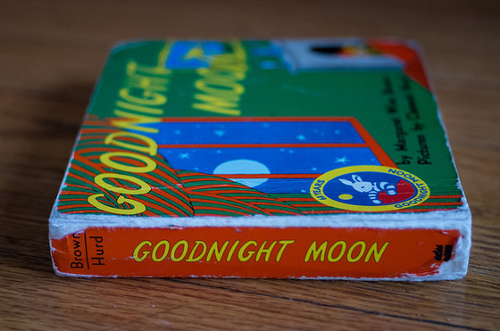 A well-loved copy of <i>Goodnight Moon</i>. Photograph by Andrew Seaman / Flickr