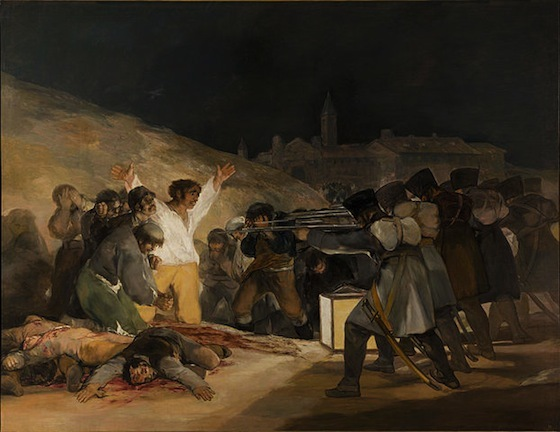 Francisco Goya, <i>The Third of May 1808</i> (1814). Wikimedia Commons