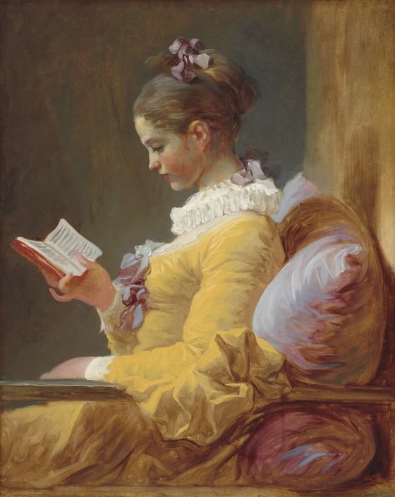 Jean-Honoré Fragonard, <i>The Reader</i> (c. 1770) / Wikimedia Commons