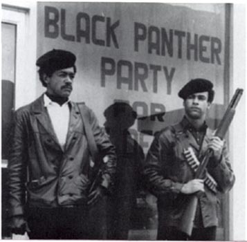 <i>Black Panther Party founders Bobby Seale and Huey P. Newton</i>, Wikimedia Commons