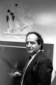 <em>Roberto Calasso</em> (1991). Photograph by Erling Mandelmann