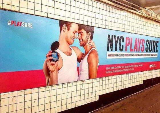 <i>New York City Department of Health PrEP Advertisement</i> (2016). kpeavz / Instagram