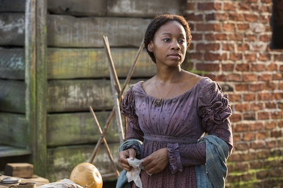 Anika Noni Rose as Kizzy. Photograph by Michele Short / History Channel