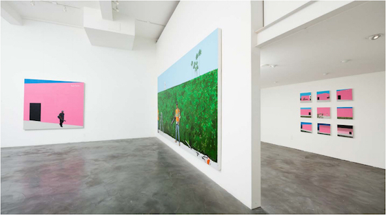 Charlie James Gallery, <i>On Melrose</i> installation view