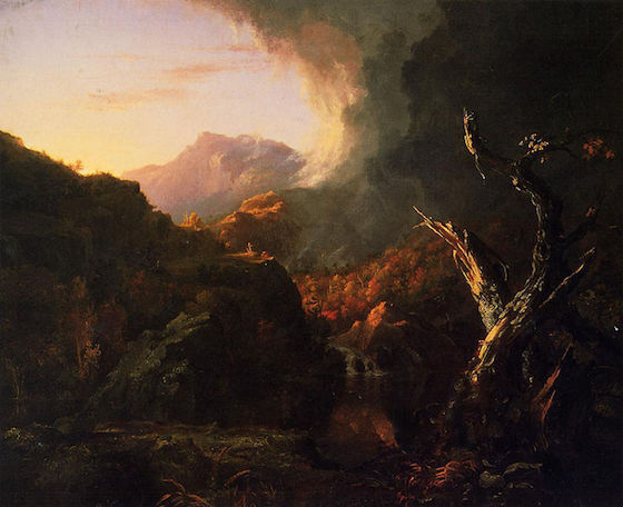 Thomas Cole, <i>Landscape with Dead Tree</i> (1828)
