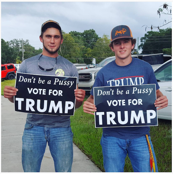 <i>Florida supporters of Donald Trump, 2016</i>. Photograph by mollyesque / Instagram
