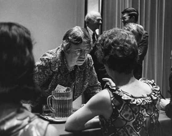 Margaret Mead in 1968. Photo by Stephen Siegel / Smithsonian Institution @ Flickr.com
