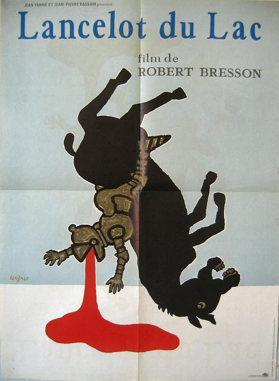 <i>Poster for</i> Lancelot du Lac (1974)</i>. IMDb