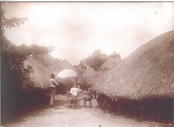 A Tiv village in 1911. Photo by Leo Frobenius / Wikimedia Commons
