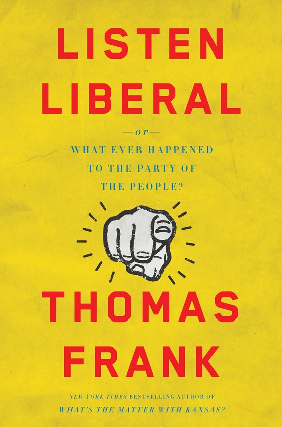 BOOK LAUNCH: THOMAS FRANK
