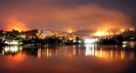 Santiago fire
