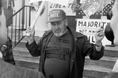 Protest in Cumming, Ga.