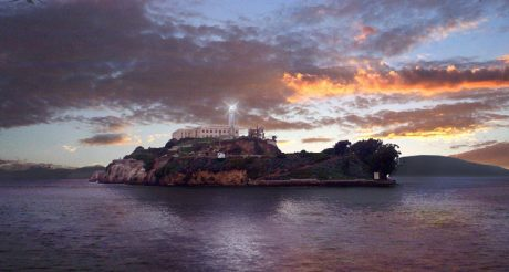 Alcatraz Island Sunset