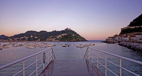 Harbor in Donostia (San Sebastían, Spain)