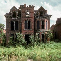 Edmonds Place West of John R., Detroit, 1987