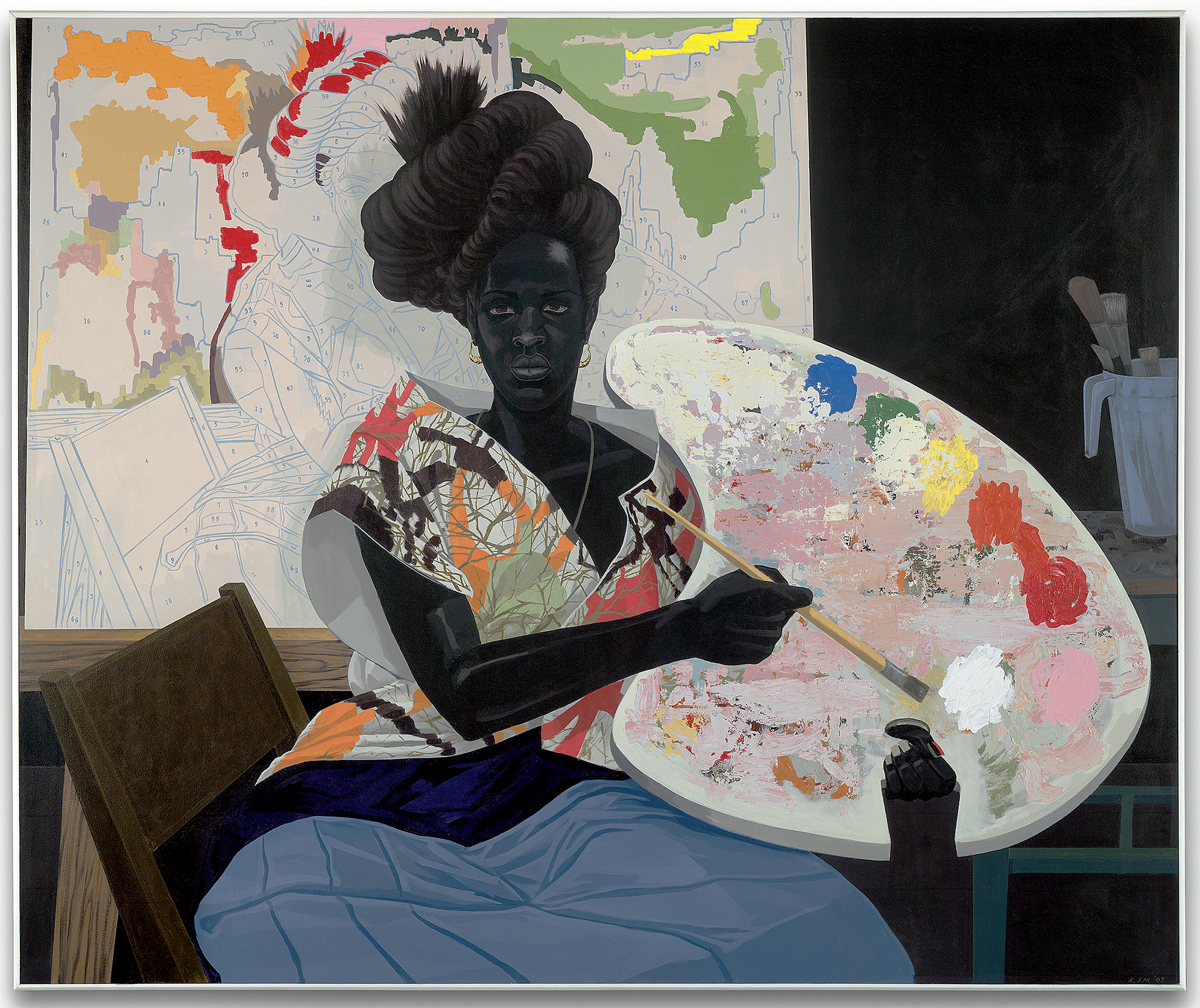 Kerry James Marshall, Untitled