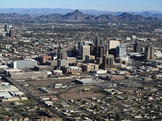 Phoenix, Arizona. Wikipedia Commons. Photo: Melikamp